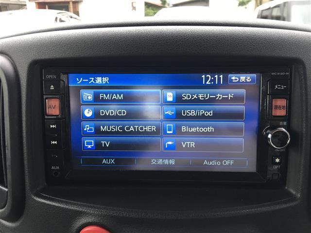 日産 キューブ 15X Vセレクション 純正メモリーナビ Bカメラ ETC