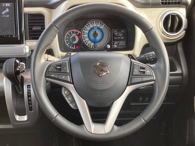 純正OPナビTV・フルセグ クルーズコントロール スマートキー シートヒーター LEDヘッドライト リアコーナーセンサー 衝突軽減ブレーキ レーンディパーチャー アイドリングストップ 横滑り防止装置(11枚目)