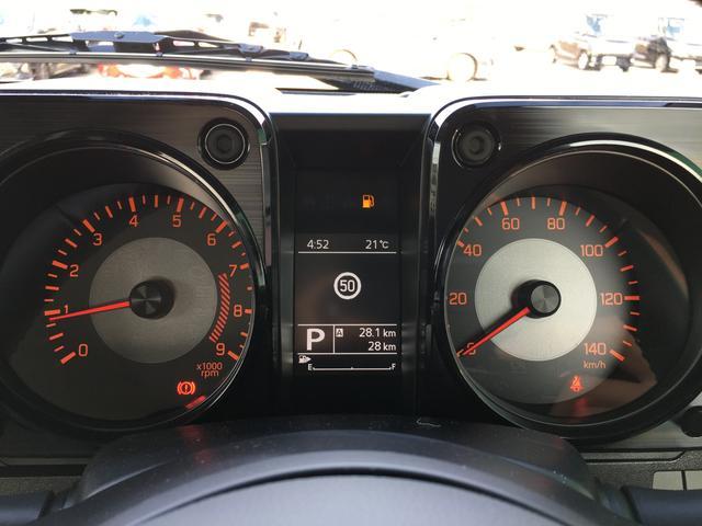 XC ワンオーナー 4WD スズキセーフティサポート デュアルセンサーブレーキサポート 純正16インチAW シートヒーター 革巻きステアリング オートライト スマートキー クルーズコントロール LEDライト(12枚目)
