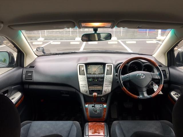 トヨタ ハリアー 240G ワンオーナー メーカーナビ バックカメラ ETC