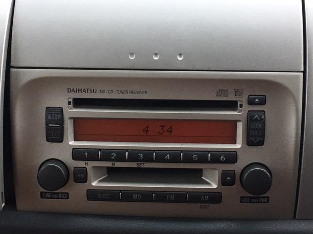 ダイハツ ムーヴラテ L 純正CD・MDオーディオ 純正フロアマット