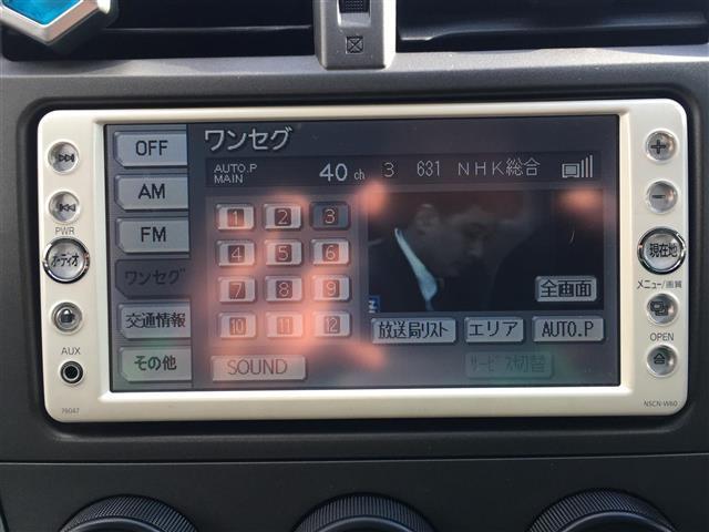 トヨタ ラクティス X メモリーナビ ETC ワンセグ キーレス