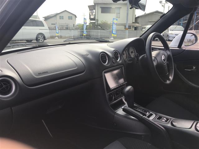 マツダ ロードスター SP 社外メモリーナビ 社外車高調 ETC ハードトップ
