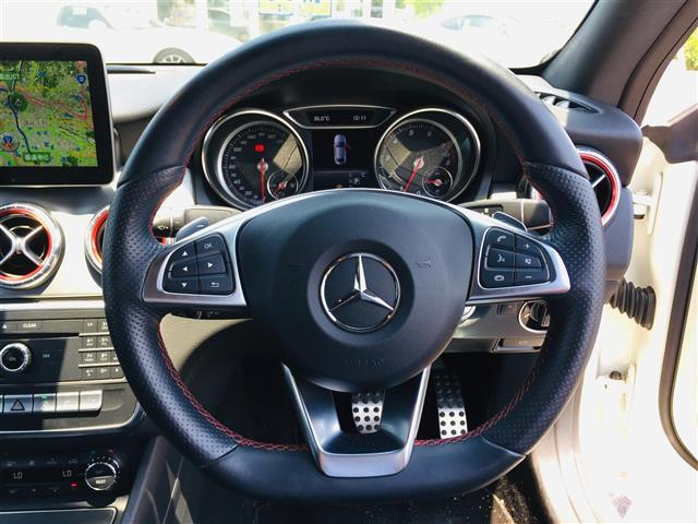 CLA180 AMG スタイル サンルーフ メーカーナビ フルセグTV CD DVD Bluetoothオーディオ Bカメラ スマートキー プッシュスタート LEDオートライト 前席パワーシートヒーター Rクルコン 衝突軽減ブレーキ(15枚目)