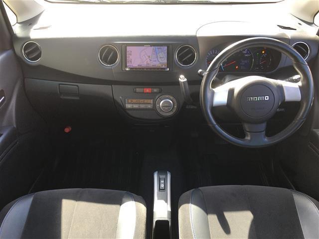 カスタムRS 4WD ターボ ナビ フルセグTV MOMOステアリング ETC HID フォグ(10枚目)