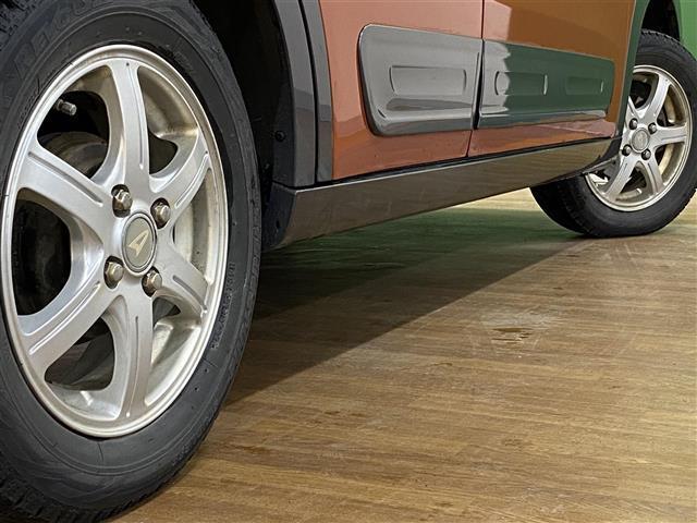 アクティバX /4WD/ワンオーナー/社外オーディオ/CD/USB/AUX/プッシュスタート/スマートキー/エンジンスターター/社外14インチAWスタッドレス/純正夏タイヤ積込/電格ミラー(23枚目)