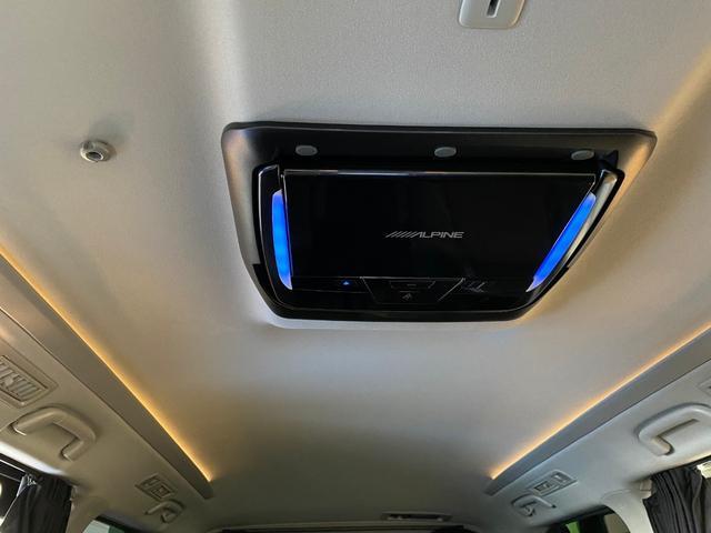 2.4Z ゴールデンアイズII 4WD BIG-X10インチナビ ALPINE11.4インチフリップダウンモニター 本州仕入れ 100Wコンセント フロントバックカメラ 両側パワスラ パワーバックドア 取説 保証書 記録簿(42枚目)