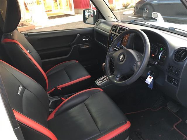 スズキ ジムニーシエラ クロスアドベンチャー 4WD ワンオーナー 革シート ETC