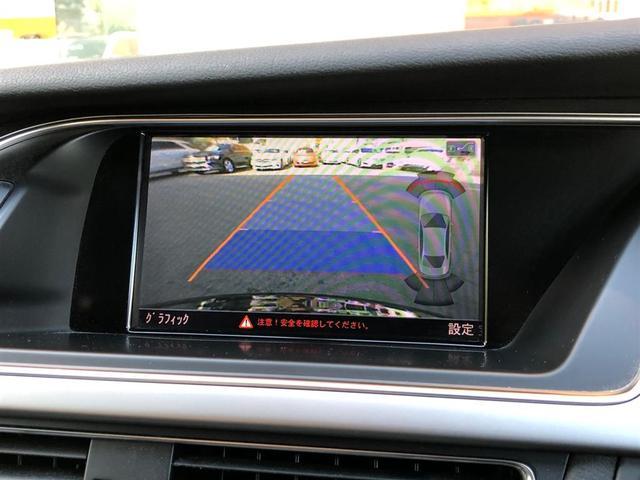 2.0TFSIクワトロ 純正ナビ CD DVD BT USB バックカメラ フルセグ ETC 黒革シート パワーシート シートヒーター コーナーセンサー 4WD ターボ スペアキー1本 純正AW カーテンエアバック(5枚目)