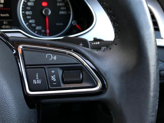2.0TFSIクワトロ 純正ナビ CD DVD BT USB バックカメラ フルセグ ETC 黒革シート パワーシート シートヒーター コーナーセンサー 4WD ターボ スペアキー1本 純正AW カーテンエアバック(14枚目)
