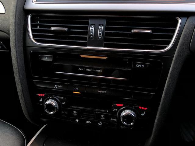2.0TFSIクワトロ 純正ナビ CD DVD BT USB バックカメラ フルセグ ETC 黒革シート パワーシート シートヒーター コーナーセンサー 4WD ターボ スペアキー1本 純正AW カーテンエアバック(19枚目)