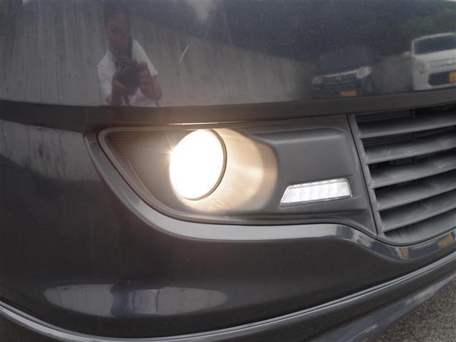 【フォグランプ】霧などで視界が特に悪い運転時に使用します!