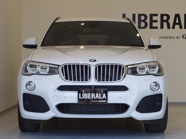 BMW BMW X3 xDrive35i Mスポーツ LEDライト トップビュー