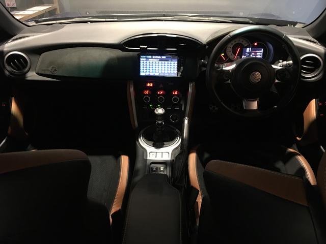 GTリミテッド /6速MT/純正SDナビ/フルセグ/クルーズコントロール/ステアリングスイッチ/ETC/スマートキー/LEDヘッドライト/車高調/TRDフロントスポイラー/TRDブレーキキャリパー/HKSマフラー(2枚目)