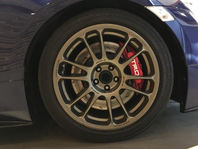 GTリミテッド /6速MT/純正SDナビ/フルセグ/クルーズコントロール/ステアリングスイッチ/ETC/スマートキー/LEDヘッドライト/車高調/TRDフロントスポイラー/TRDブレーキキャリパー/HKSマフラー(54枚目)
