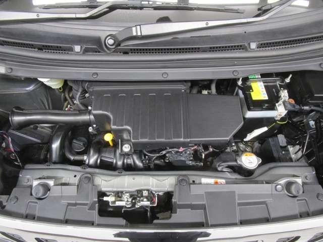 660ccのターボ付きエンジンです。