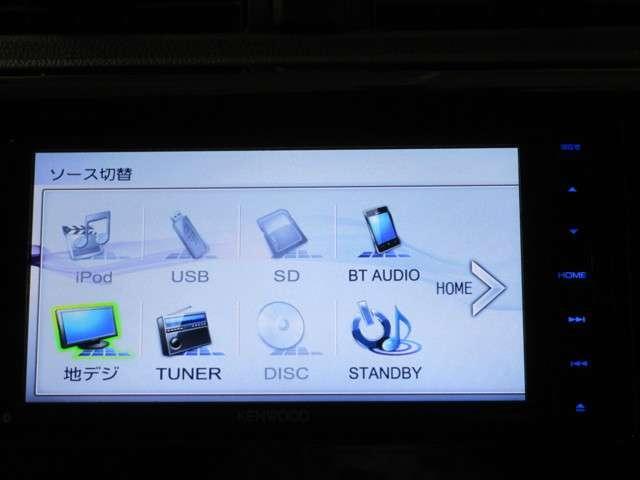 ケンウッド製メモリーナビ【MDV-D503W】です。フルセグTV、DVD再生機能付きです。