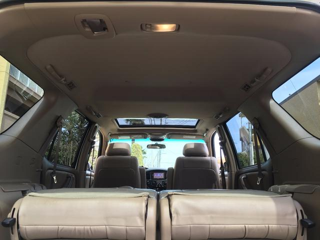 米国トヨタ セコイア 4WDサンルーフ16AWレザー1ナンバー