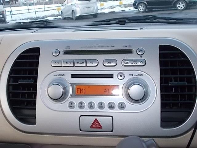 日産 モコ E CD MD スマートキー ABS ETC Wエアバック