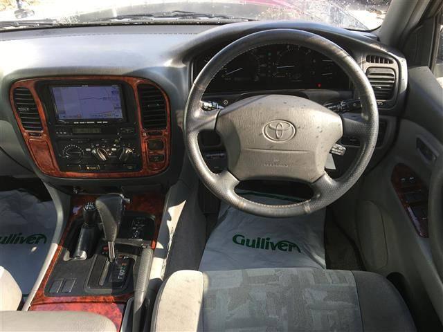 トヨタ ランドクルーザー100 VX-LTD 4WD HDDナビ ワンセグ CD ETC