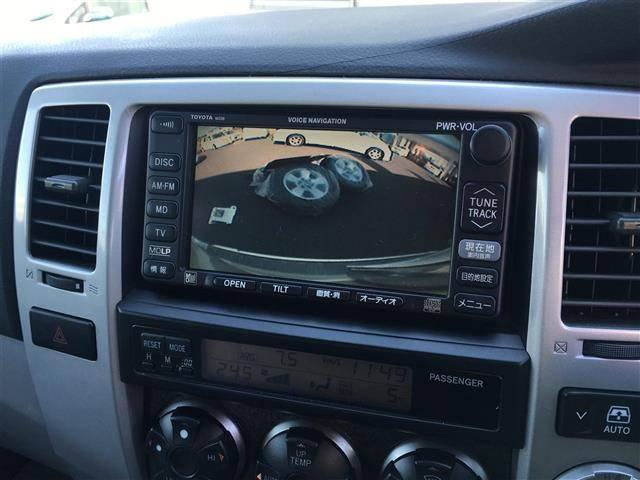 トヨタ ハイラックスサーフ SSR-G 4WD DVDナビ CD MD ABS ETC