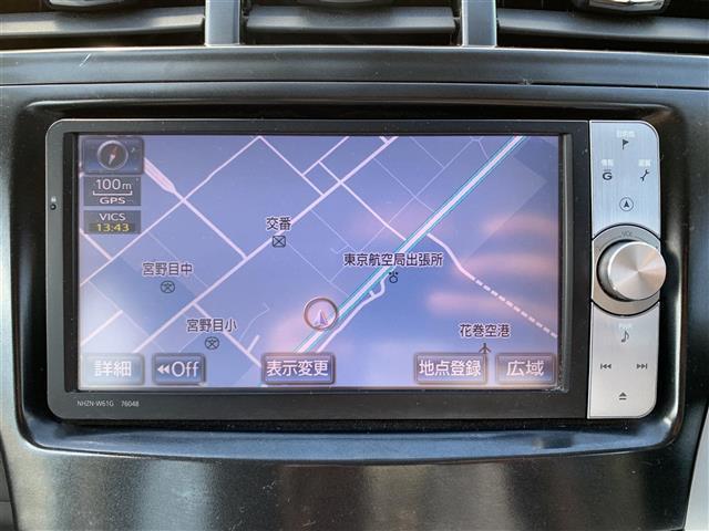 G プッシュスタート 純正HDDナビ フルセグTV バックカメラ クルーズコントロール ステアリングリモコン 革巻きハンドル ビルトインETC HIDヘッドライト フォグライト 電動格納ミラー(12枚目)