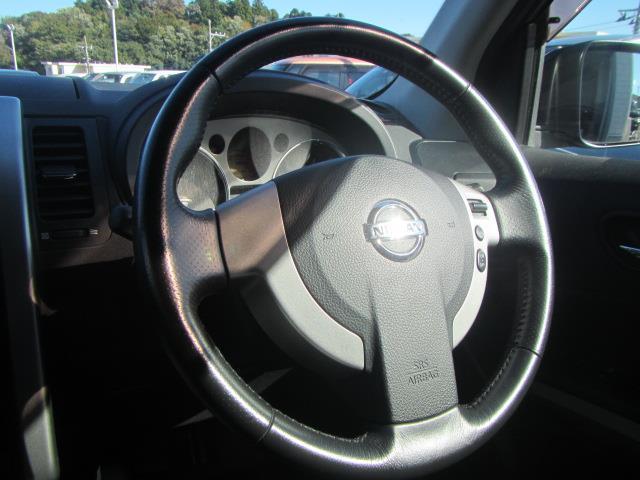 日産 エクストレイル 20Xtt 4WD 革シート HDDナビ フルセグDVD再生