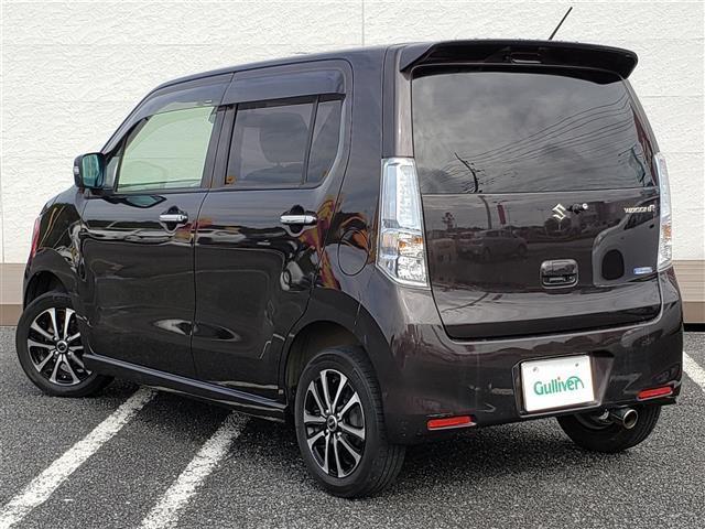 FZ 純正CDプレーヤー Bluetooth スマートキー アイドリングストップ R席シートヒーター 衝突軽減ブレーキ ウィンカーミラー 社外14インチアルミホイール キセノンライト(2枚目)