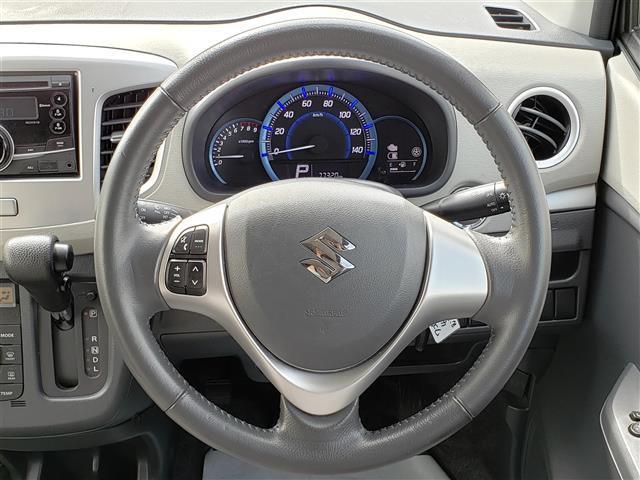 FZ 純正CDプレーヤー Bluetooth スマートキー アイドリングストップ R席シートヒーター 衝突軽減ブレーキ ウィンカーミラー 社外14インチアルミホイール キセノンライト(7枚目)