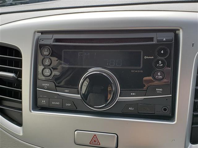 FZ 純正CDプレーヤー Bluetooth スマートキー アイドリングストップ R席シートヒーター 衝突軽減ブレーキ ウィンカーミラー 社外14インチアルミホイール キセノンライト(19枚目)