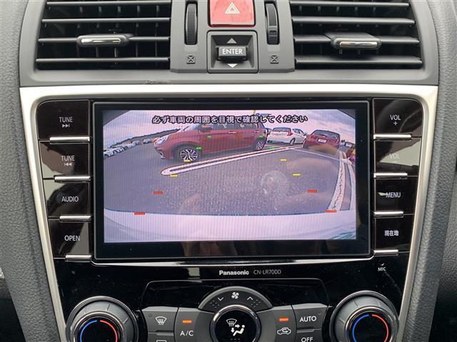 1.6GT-Sアイサイト 純正ナビ CN-LR700D AM FM CD DVD USB BT フルセグTV レーダークルーズ バックカメラ 衝突軽減 ETC レーンキーピングアシスト ダウンヒルアシストコントロール(6枚目)