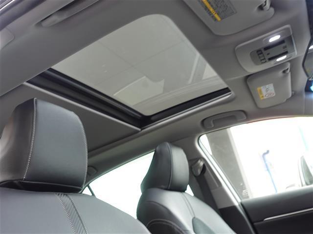 G サンルーフ・トヨタセーフティセンス・レーダークルーズコントロール・Bluetooth・フルセグTV・ビルドインETC・バックカメラ・LEDランプ・レーンディパーチャーアラート・プリクラッシュセーフティ(5枚目)