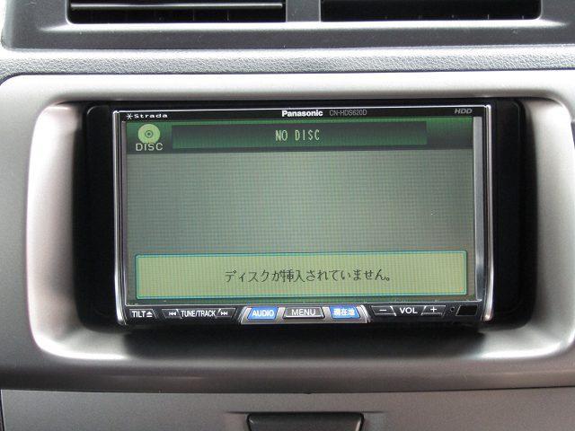 トヨタ bB Z Xバージョン HDDナビ CD DVD再生 HID