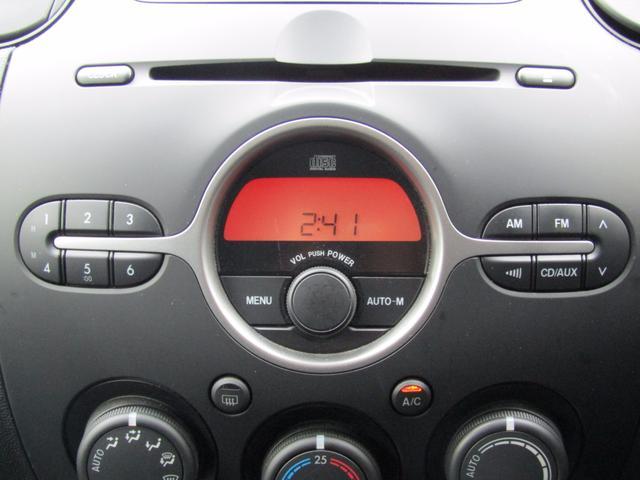 マツダ デミオ スポルト 5MT 1オーナー 純CD HID スマートキー