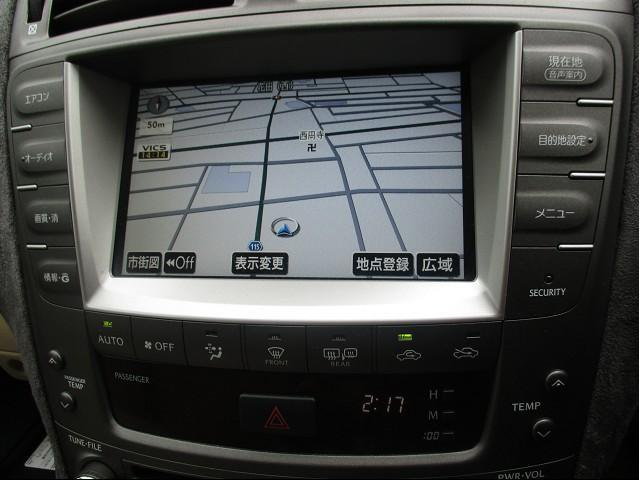レクサス IS IS250 HDD地デジTVスマートキーBカメラ社外20AW