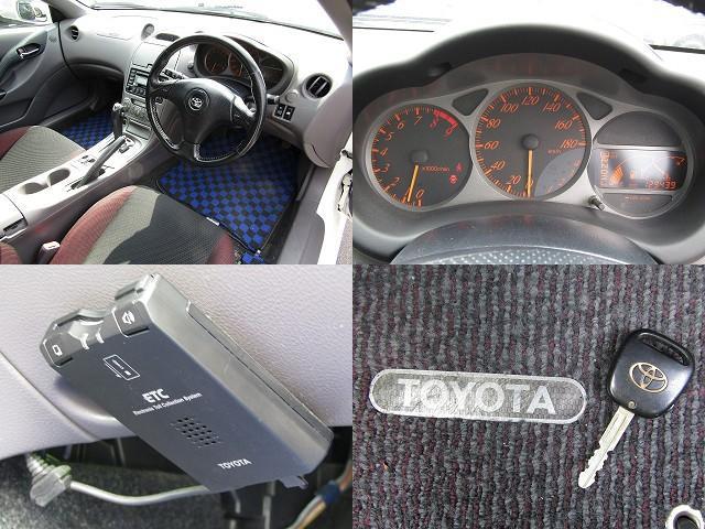 トヨタ セリカ 1.8 SS-II リアスポイラー 社外17AW