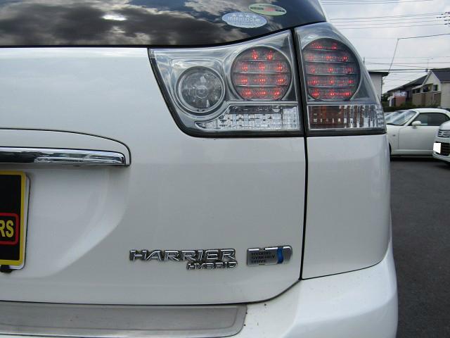 トヨタ ハリアーハイブリッド Lパッケージ 4WD 純正HDDナビ 地デジ 1オナ