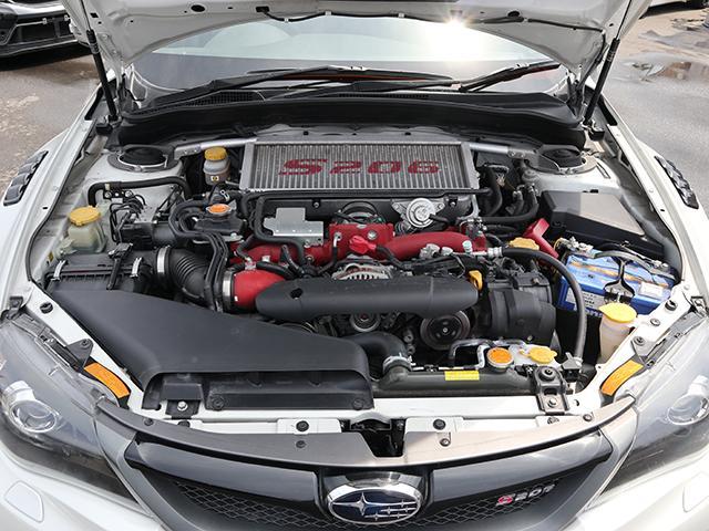WRX STi S206 4WD ナビフルセグレカロ半革Si(20枚目)