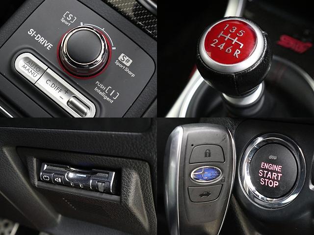 STI タイプS 4WD ナビフルセグBカメラ半革6速MT(3枚目)