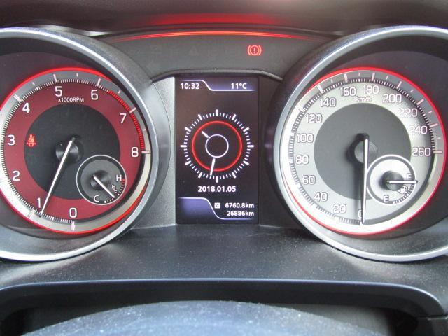 ベースグレード ワンオーナー クルーズコントロール スマートキー プッシュスタート フォグ 6速MT ETC LEDヘッドライト ウィンカーミラー 社外17インチアルミ フジツボマフラー エアクリーナー ETC(10枚目)