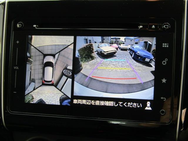 【アラウンドビュー&バックカメラ付き!】バックする際も、バックモニターで確認しながらバックできますのでもう安心です。ギリギリ駐車も可能ですよ♪