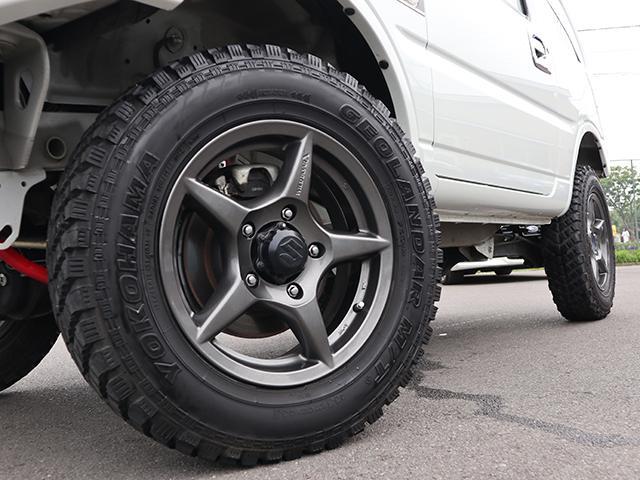 WILD BOAR16インチアルミ&マッドタイヤ付き!タイヤの山も7部残ってます!!まだまだ長くお乗りいただけますよ♪