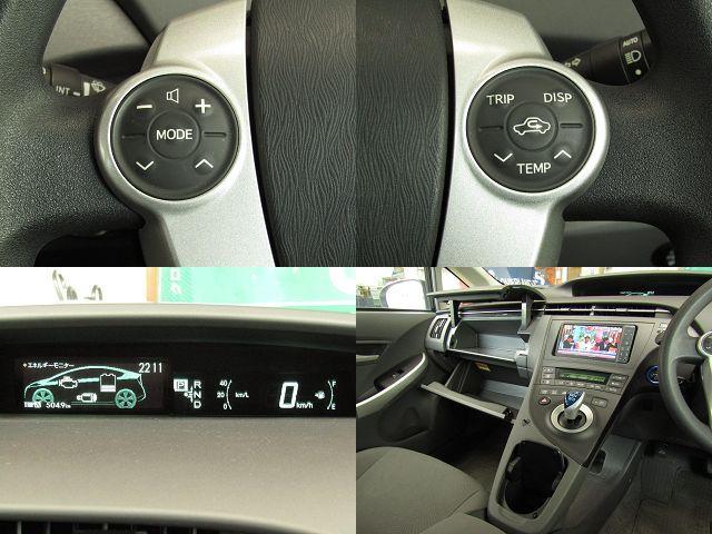トヨタ プリウス Sツーリングセレクション HDDナビ TV フルエアロ