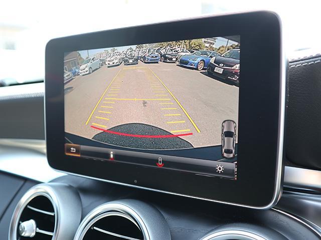 バックカメラ(カーガイド付き)で駐車も安心!