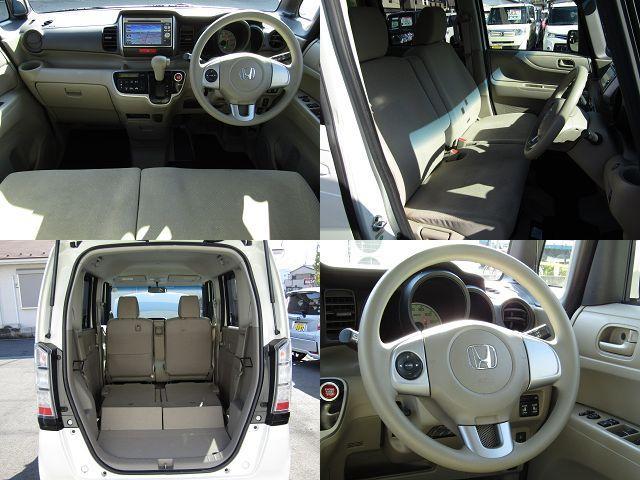 ホンダ N BOX G 4WD 両側電動 純正ナビ フォグ 1オーナー