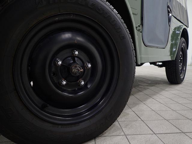 幌タイプ バン 4WD 幌バン ワンオフミラー2ストエンジン(4枚目)