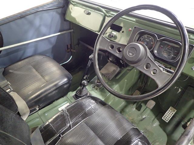 幌タイプ バン 4WD 幌バン ワンオフミラー2ストエンジン(8枚目)