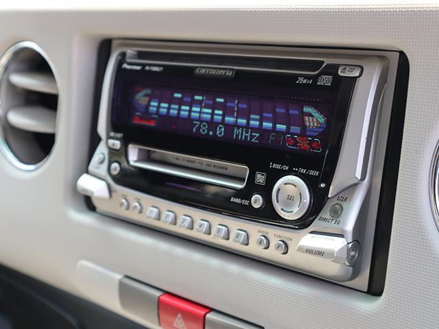 良音CDデッキ付き♪音楽をガンガン聞きながら快適ドライブへGO!!