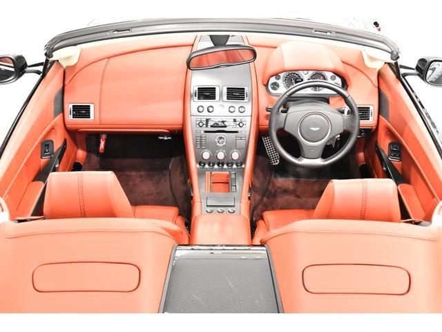 アストンマーティン アストンマーティン V8ヴァンテージ ロードスタースポーツシフト クラッチ交換済 赤革赤幌 右H