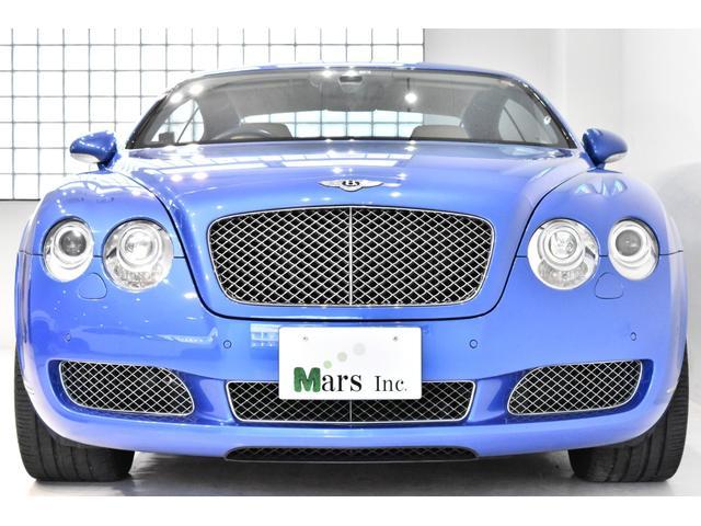 ベントレー コンチネンタル GT 正規D車 希少右ハンドル! 2オーナー 整備記録多数 ネイビー&ベージュレザー